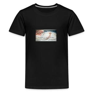 Virtual Leftover Podcast Meatloaf logo - Kids' Premium T-Shirt