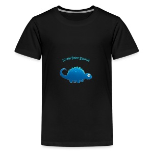 Blue Little Baby Saurus - Kids' Premium T-Shirt