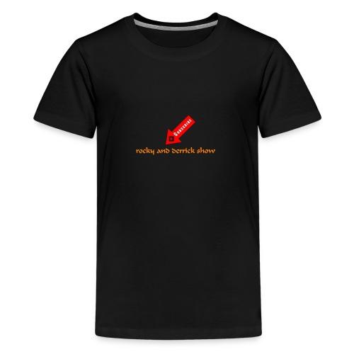 arrow YouTube subscribe - Kids' Premium T-Shirt