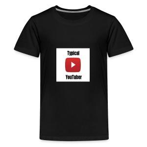 Typical YouTuber Logo - Kids' Premium T-Shirt