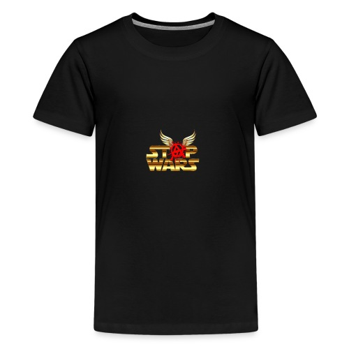 Stop Wars. Wing's and Anarchy - Kids' Premium T-Shirt