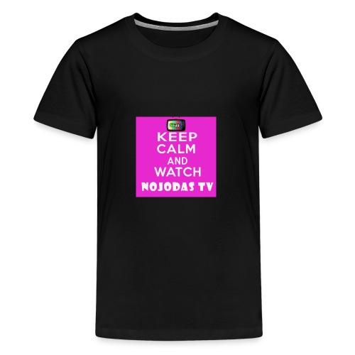 KEEP CALM AND WATCH NOJODAS TV - Kids' Premium T-Shirt