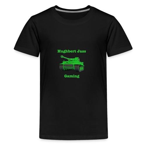 HughbertJassGamingTiger - Kids' Premium T-Shirt