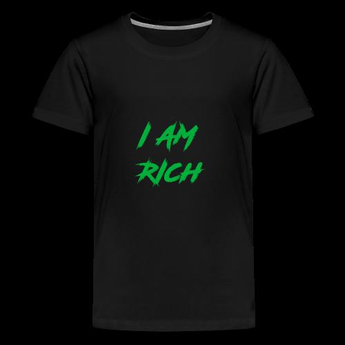 I AM RICH (WASTE YOUR MONEY) - Kids' Premium T-Shirt