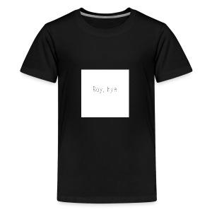 Boy, Bye. - Kids' Premium T-Shirt