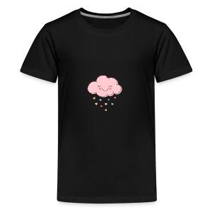 Raining Hearts - Kids' Premium T-Shirt