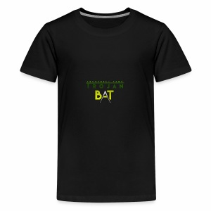 New Trojan Bat Logo - Kids' Premium T-Shirt