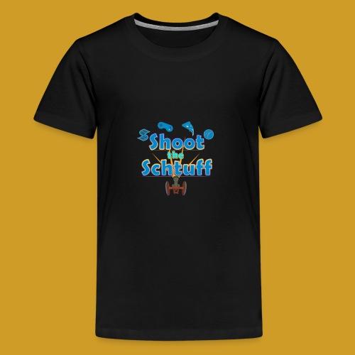 Official Shoot The Schtuff Logo - Kids' Premium T-Shirt