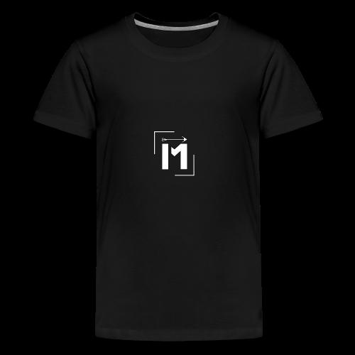 MADE white BrstPKT emblem - Kids' Premium T-Shirt