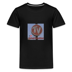 Retro Neon Motel Sign - Kids' Premium T-Shirt