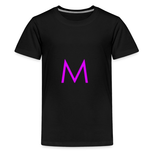 Single purple 'm' - Kids' Premium T-Shirt