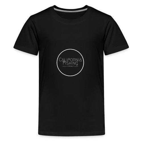 CaliforniaFishingCo Circle Logo - Kids' Premium T-Shirt