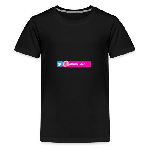 Youtube Social Media Banner - Kids' Premium T-Shirt
