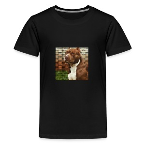 Pitbull- Faith Thread - Kids' Premium T-Shirt