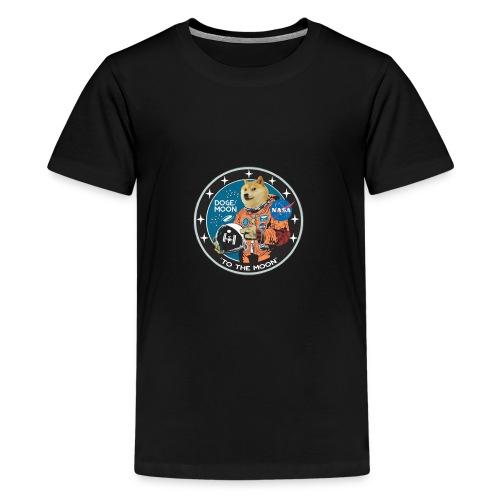 Doge to the Moon - Kids' Premium T-Shirt