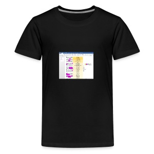 HOOM_Sample_Concept_In_Action_Grammarly_Tremendous - Kids' Premium T-Shirt
