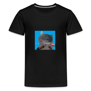 cat - T-shirt premium pour ados
