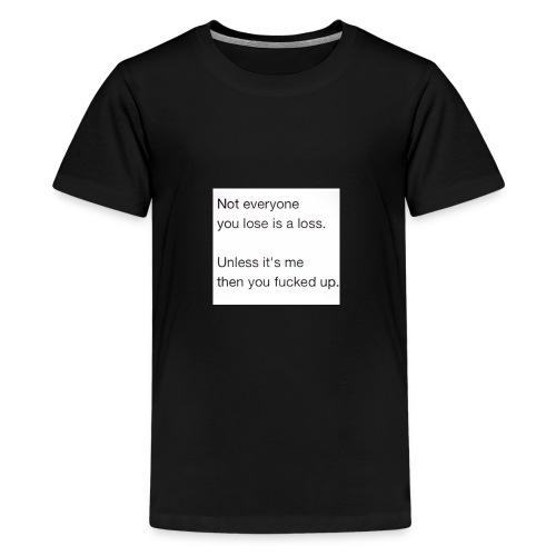 Getting Over - Kids' Premium T-Shirt