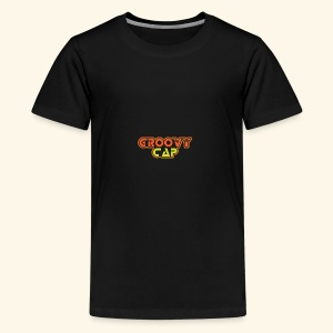 Groovy Cap Logo - Kids' Premium T-Shirt