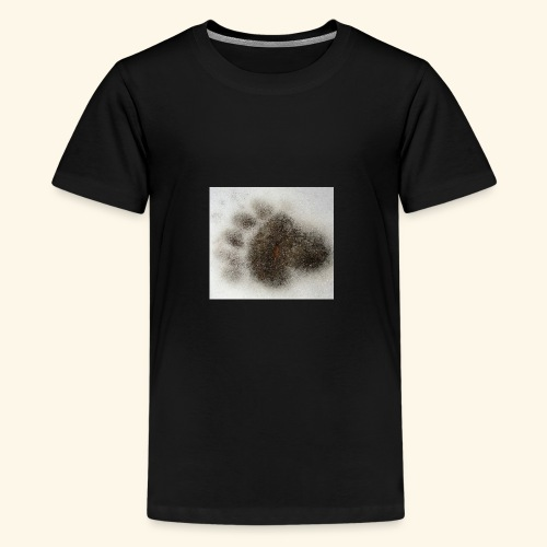 Bear footprint - Kids' Premium T-Shirt