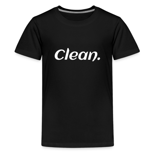 Clean T-shirt - Kids' Premium T-Shirt