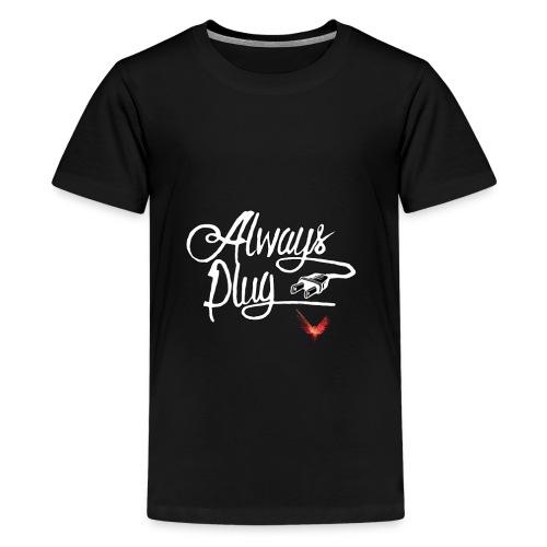 LOGAN - ALWAYS PLUG - Kids' Premium T-Shirt