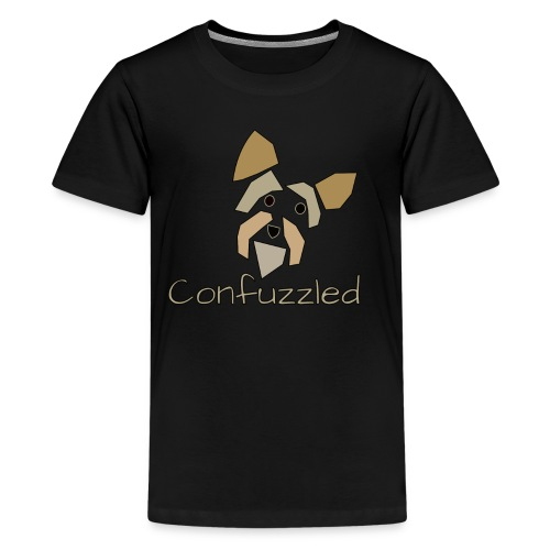 Attitude Dog: Confuzzled Yorkie - Kids' Premium T-Shirt