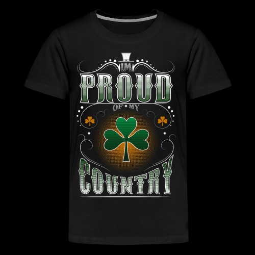 I'm Proud of My Country - Kids' Premium T-Shirt