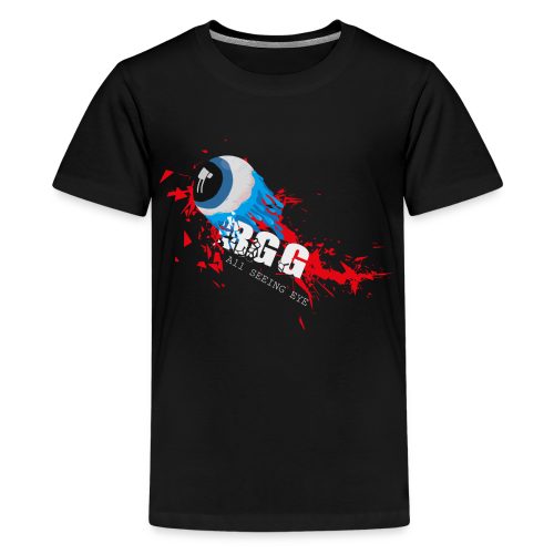 All Seeing Eye Red - Kids' Premium T-Shirt