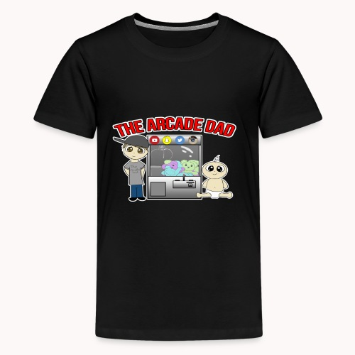 Logo White Background - Kids' Premium T-Shirt