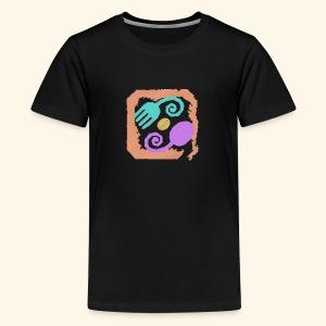 Earthy Pastel - Kids' Premium T-Shirt