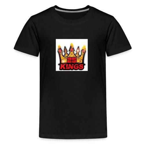 N&B Crowend kings - Kids' Premium T-Shirt