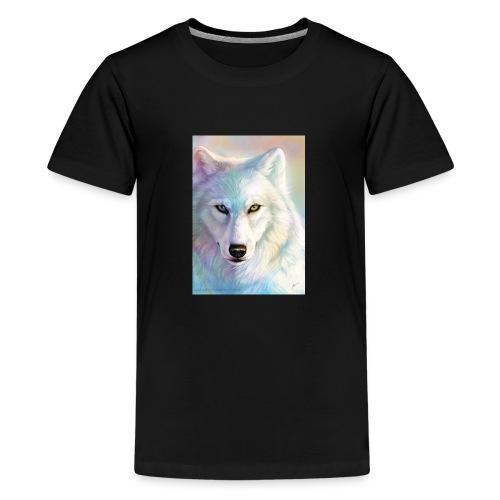 king wolf raindow wolf - Kids' Premium T-Shirt