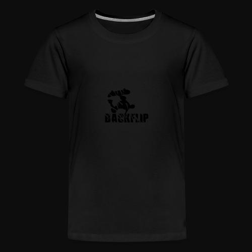 Back flip Skate Level - Kids' Premium T-Shirt