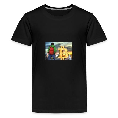Bitcoin Highway - Kids' Premium T-Shirt