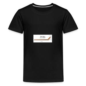 Hockey Stick - Kids' Premium T-Shirt