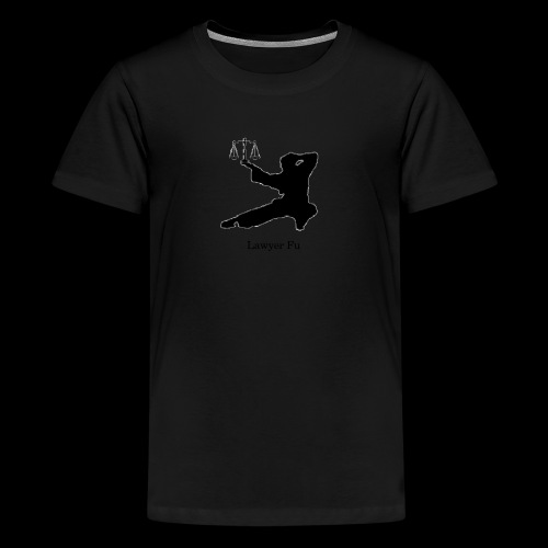 Lawyer Fu Name and Logo - Kids' Premium T-Shirt