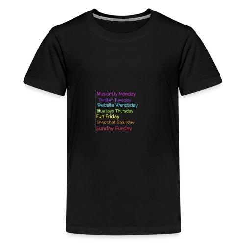 Week - Kids' Premium T-Shirt