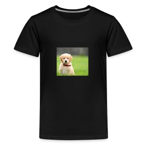 Cute puppy Clothing dogs pets cute fur happy - Kids' Premium T-Shirt