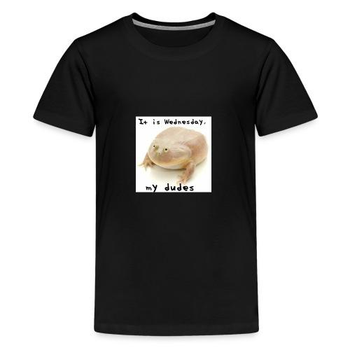 Its wednesday my dudes - Kids' Premium T-Shirt