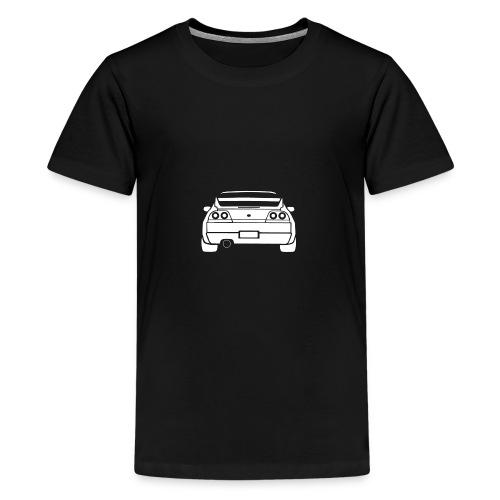 skyline r33 - T-shirt premium pour ados