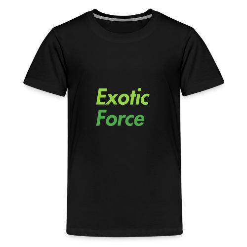 Exotic Force Logo - Kids' Premium T-Shirt