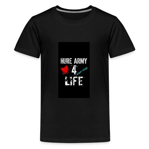 HURE ARMY 4 LIFE - Kids' Premium T-Shirt