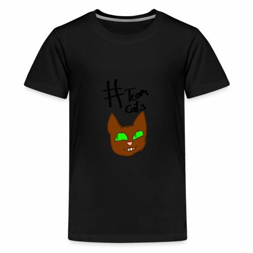 #Team Cats - Kids' Premium T-Shirt
