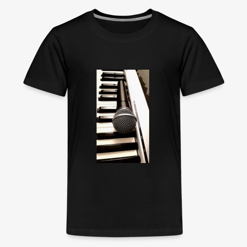 Mic and keys - Kids' Premium T-Shirt