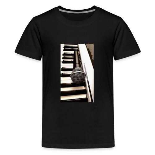 Mic and keys - Kids' Premium T-Shirt