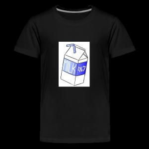 Boîte de lait - T-shirt premium pour ados
