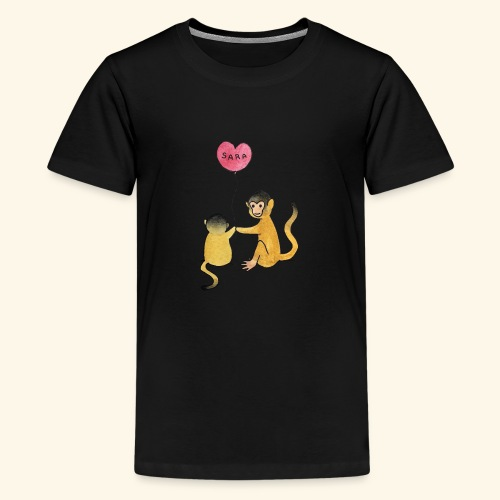 Monkey Family for Yuri - Kids' Premium T-Shirt