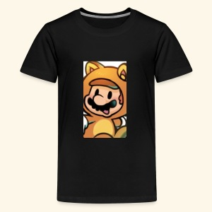 Time for Mario - Kids' Premium T-Shirt
