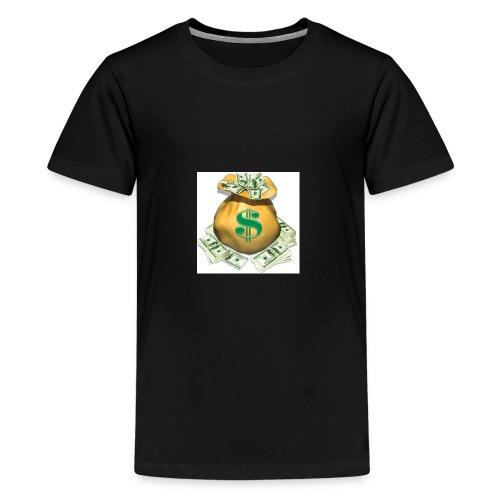 SECURE THE BAG !!💯💪🏽 - Kids' Premium T-Shirt